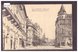 GENEVE - BOULEVARD PICTET DE ROCHEMONT - TB - GE Genève