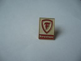 PIN'S PINS FIRESTONE THÈME MARQUE DE PNEUS - Badges