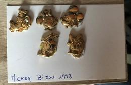 Fèves Mickey Bijou Doré 1993 - Disney
