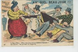 """HUMOUR - Jolie Carte Fantaisie """"Ah! Quel Beau Jour !!! (mariage ) """" - Humor"""