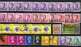 Lote De Sellos Usados De Hong Kong - Hong Kong (...-1997)