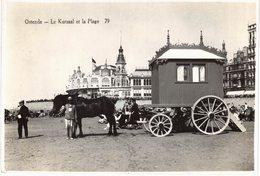Carte POSTALE Ancienne De OSTENDE - Le Kursaal & La Plage - Oostende