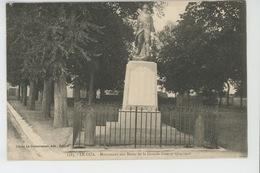 LE GUA - Monument Aux Morts 1914-18 - Andere Gemeenten