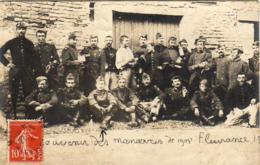 D32  FLEURANCE Souvenir Des Manœuvres De Fleurance De 1908   ...... Carte Photo Peu Courante - Fleurance