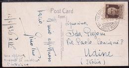 Italy, LLOYD Triestino, Ship Conte Rosso, Mailed 1930 - Storia Postale