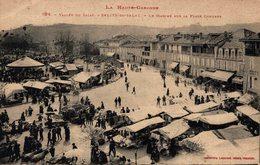 16502      SALIES DU SA SALAT   LE MARCHE SUR LA PLACE COMPANS - Salies-du-Salat