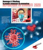 DJIBOUTI 2020 - COVID-19 S/S. Official Issue [DJB200119b] - Malattie