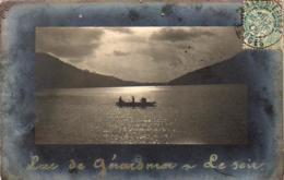 D88  GERARDMER  Lac De Gérardmer- Le Soir  ...... ( Carte Photo ) - Gerardmer