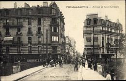 Cp Maisons Laffitte Yvelines, Avenue De Saint Germain - France
