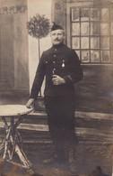 Soldat Belge De Bierset Awans Prisonnier  Munster Cachet Censure Photo Carte - Fotos