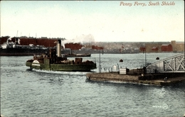 Cp South Shields South Tyneside North East England, Penny Ferry - Inghilterra