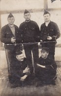 Soldat Belge De Bierset Awans Prisonnier  Munster Cachet Censure Photo Carte - Photos