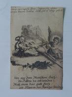 Holy Card 13 Santini Heilgenbild Holycard Images Pieuse Religieuse Image Epinal 1850 Angel Engel Ange - Santini