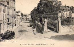 D88  NEUFCHÂTEAU  Avenue De La Gare - Neufchateau
