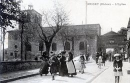 69  GRIGNY  L'EGLISE - Grigny