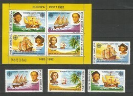 ROMANIA - MNH - Europa-CEPT - Columbus - 1992 - 1992