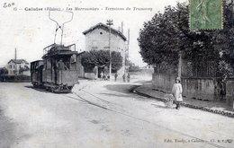 69  CALUIRE  LES MARRONNIERS TERMINUS DU TRAMWAY - Caluire Et Cuire