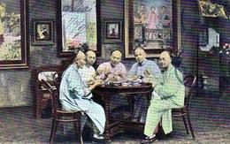 Un Banquet En 1907 - Cina