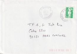 BLAGNAC - GA - 31 : T. à D. Du Centre Commercial. (TTB) - Marcophilie (Lettres)