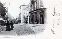 69  VILLEFRANCHE SUR SAONE  RUE VICTOR HUGO - Autres Communes
