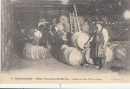 CPA( 11) NARBONNE Maison Veuve Ulysse MAURIN Fils Reseve Des Vins Vieux (parfait Etat) - Narbonne