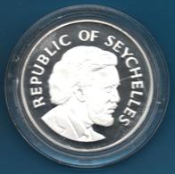 SEYCHELLES LOT 2 X 25 RUPEES 1977 25th Anniversary - Accession Of QE II Silver 0.925 KM# 38 - Seychelles