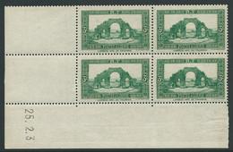 ALGERIE  N°103** COIN DATE DU 25/02/37 - Algeria (1924-1962)