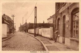 +-1950: BOTTELARE: De Dorpstraat - «In St. Anna – Bij A. DE BOEVER». - Merelbeke
