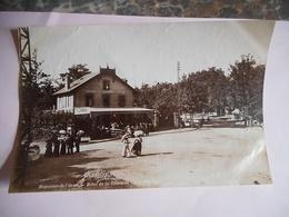 PHOTO ALBUMINE FIN 19 EME BAGNOLES DE L' ORNE HOTEL DE LA TERRASSE Format 12 / 18.5 CMS PAPIER MINCE - Old (before 1900)