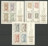 GREECE - MNH - Sport - Olympic Games - 1996 - Timbres