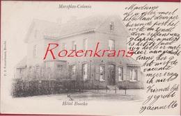 Merksplas Merxplas Colonie Hotel Boeckx 1902 (zeer Goede Staat) Edit. PJ Vorsselmans Brecht Kempen - Merksplas