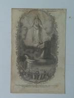 Holy Card 27 Santini Heilgenbild Holycard Images Pieuse Religieuse Image Epinal 1850 Rosenkranz Pope Gregor - Santini