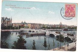 Amsterdam - 1912 - Nieuwe Amstelbrug En Buiten Amstel # 3-19/14 - Amsterdam