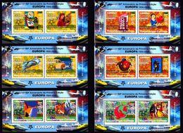 Europa Cept - 2006 - Mozambique - (6 Complete Mini S/Sheet) - Perf. ** MNH - 2006