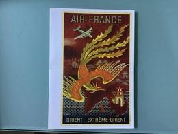 AIR FRANCE — Menu :  LIMA - PARIS - Menu