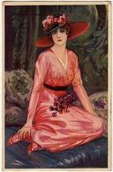 ELEGANTE GIOVANE DONNA - Dis. T. CORBELLA - 1920 - Vedi Retro - Formato Piccolo - Corbella, T.