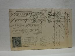 ANNULLO A  TARGHETTA  -- 1924  -  FIRENZE   --    SALDI  OCCASIONI IN TUTTI I RIPARTI LA RINASCENTE - Poststempel