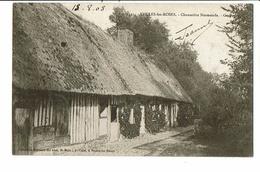 CPA-Carte Postale-FRANCE-Veules Les Roses- Chaumière Normande -1903 VMO16667 - Veules Les Roses
