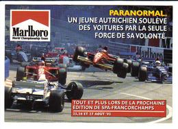Marlboro - Départ GP Spa Francorchamps 1995 - FERRARI, Mc LAREN, WILLIAMS - Grand Prix / F1