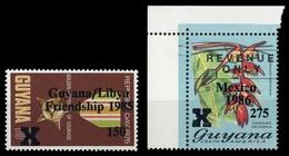 1985, Guyana, 1430 U.a., ** - Guiana (1966-...)