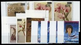 1989, Guyana, 2531-34 U.a, ** - Guiana (1966-...)