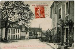 CPA Salies-de-Béarn 64. Avenue Saint-Martin Et La Gendarmerie, 1915 - Salies De Bearn