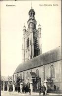 Cp Roeselare Roulers Westflandern, Saint Michiels Kerk - Bélgica