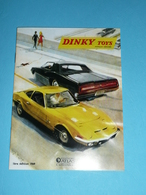 Réédition Du Catalogue 1969 Dinky Toys Modèles Réduits Véhicules Miniatures Par Atlas - Other