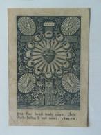 Holy Card 39 Santini Heilgenbild Holycard Images Pieuse Religieuse Image Epinal 1850 Ed W. Hoffmann - Santini