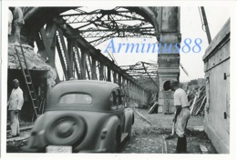 Campagne De France 1940 - Strasbourg - Pont De L'Europe - Rheinbrücke Kehl - Wehrmacht - War, Military