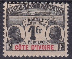 Côte-d'Ivoire    Timbres-taxe    N°8** - Neufs