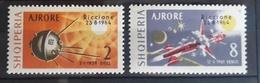 Albanien 1964, Mi 857-58 MNH Postfrisch - Albanie