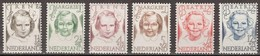 Pays-Bas Nederland 1946 Yvertn° 451-456 *** MNH Cote 5,00 Euro - Unused Stamps