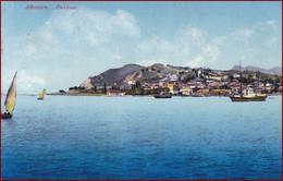 Durrës (Durazzo) * Segelboot, Schiffe, Blick Vom Meer * Albanien * AK2524 - Albania